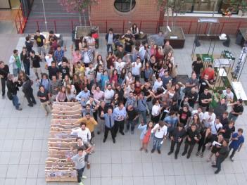 Imagen de la Escuela de Arquitectura ESARQ-UIC durante uno de sus talleres verticales. Barcelona